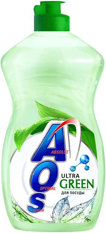 АОС Ultra Green средство для мытья посуды (450 мл)