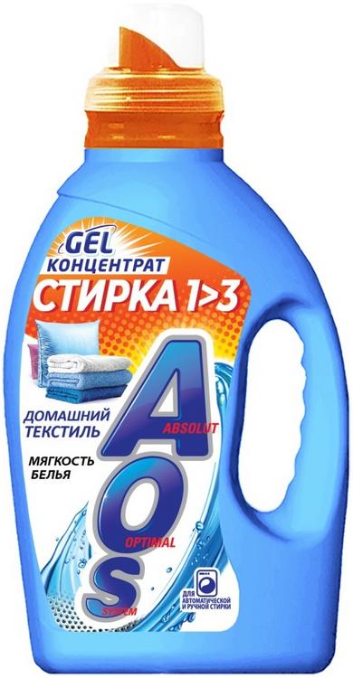 АОС Домашний Текстиль гель-концентрат для стирки белья (1.3 л)