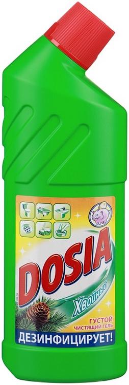 Дося Хвоя гель-средство чистящее и дезинфицирующее (750 мл)