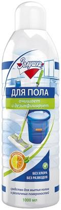 Золушка средство для мытья пола с дезинфицирующим эффектом (1 л)