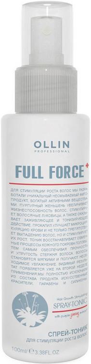 Оллин Professional Full Force Spray-Tonic спрей-тоник для стимуляции роста волос с экстрактом женьшеня (100 мл)