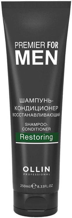 Оллин Professional Premier For Men Shampoo-Conditioner Restoring шампунь-кондиционер восстанавливающий (250 мл)