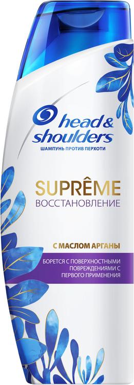 Head & Shoulders Supreme Восстановление с Маслом Арганы шампунь против перхоти (300 мл)