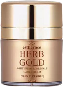 Deoproce Estheroce Herb Gold Care Cream крем для лица омолаживающий (50 мл)