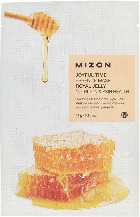 Mizon Joyful Time Essence Mask Royal Jelly маска для лица тканевая с экстрактом маточного молочка (1 маска)