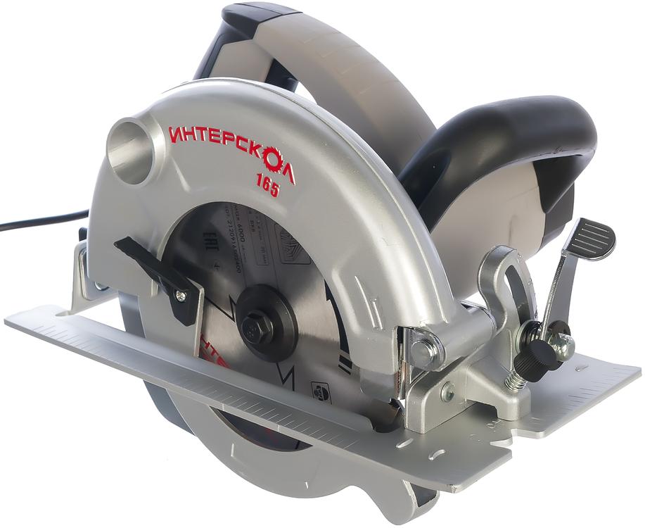 Интерскол ДП-165/1200 пила дисковая (1200 Вт 165 мм)