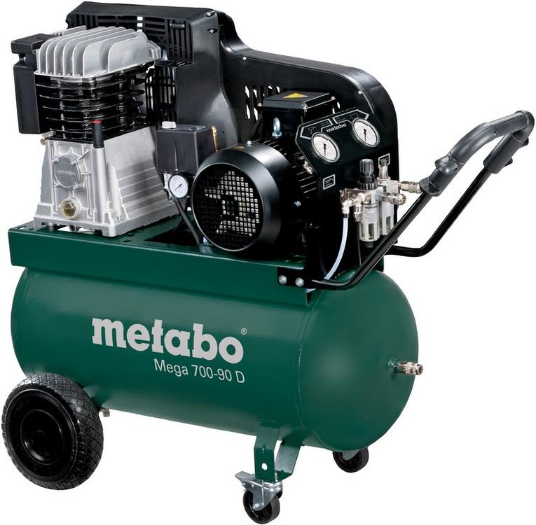 Metabo Mega 700-90 D поршневой компрессор (4000 Вт)