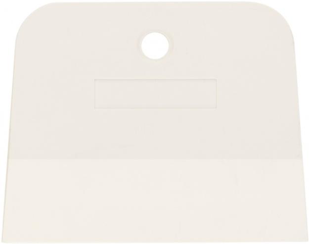 Шпатель белая резина Сибртех (100 мм) трапеция