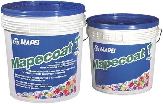 Mapei Mapecoat T лак эпоксидный двухкомпонентный (10 кг) белый RAL 9010