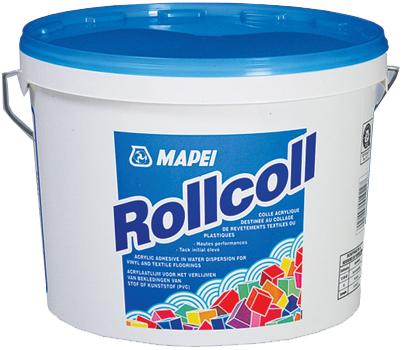 Mapei Rollcoll клей для виниловых напольных и настенных покрытий (25 кг)
