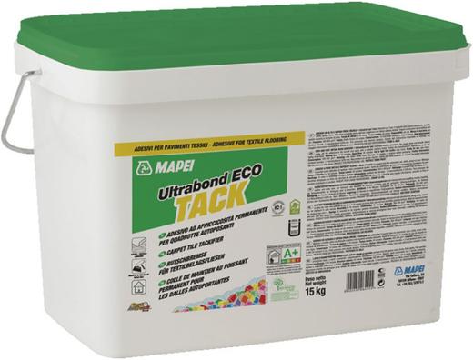 Mapei Ultrabond Eco Tack клей для укладки свободно крепящейся ковровой плитки (15 кг)