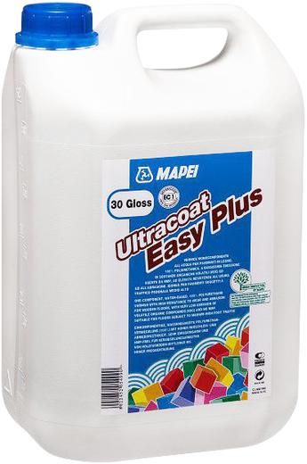 Mapei Ultracoat Easy Plus полиуретановый лак для деревянных полов (5 л) блеск 10