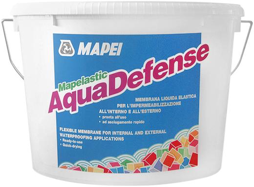 Mapei Mapelastic Aquadefence жидкая эластичная мембрана для гидроизоляции (15 кг)