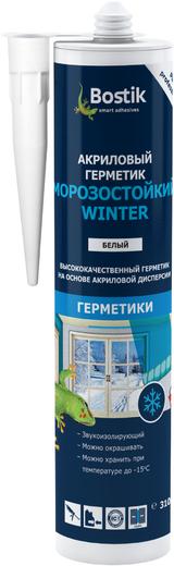 Bostik Морозостойкий Winter акриловый герметик (310 мл) белый