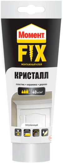 Момент Fix Кристалл универсальный монтажный клей (185 г)