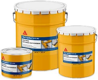 Sika Igolflex-073 мастика битумно-каучуковая (5 л) черный