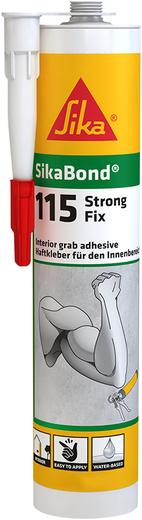 Sika Sikabond-115 Strong Fix высокопрочный клей для внутренней отделки (290 мл)