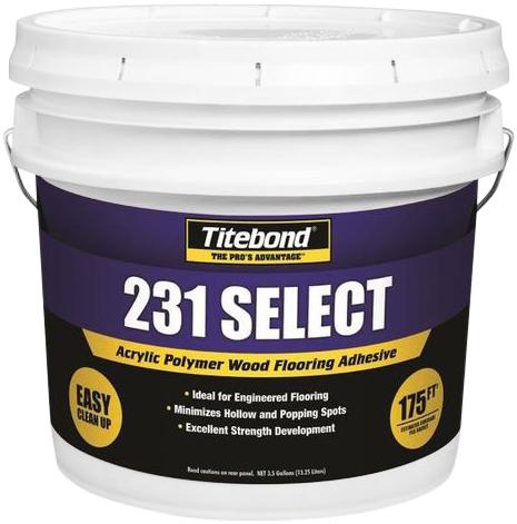 Titebond 231 Select клей полимерный акриловый для деревянного пола (20 кг)