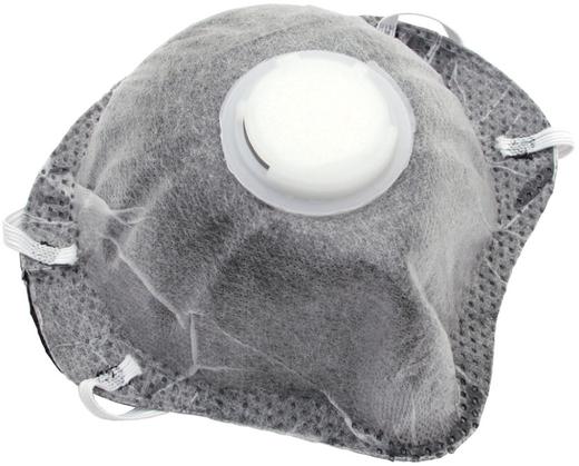 Полумаска фильтрующая с клапаном и угольным слоем Исток 1ФК (FFP1 NR)