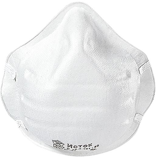 Полумаска формованная фильтрующая Исток 1Ф (FFP1 NR до 4 ПДК) 20 масок