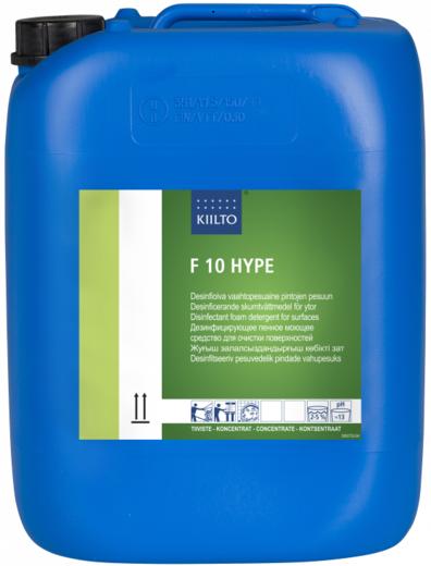 Kiilto F 10 Hype дезинфицирующее пенное моющее средство (10 л)