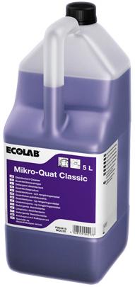 Ecolab Mikro-Quat Classic концентрированное дезинфицирующее средство для поверхностей (5 л)