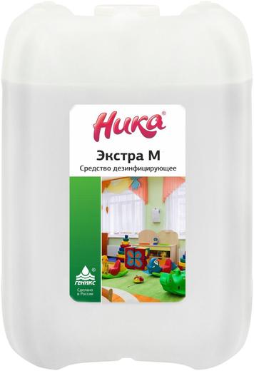 Ника Экстра М средство дезинфицирующее с моющим эффектом (5 л)