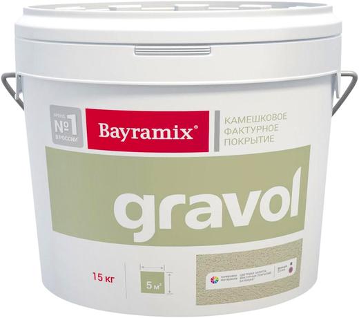 Bayramix Gravol декоративная камешковая штукатурка (15 кг) зерно 1.5 мм