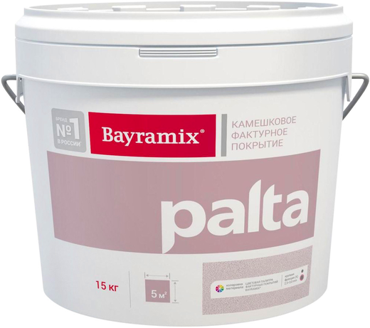 Bayramix Palta декоративная камешковая штукатурка (15 кг) K