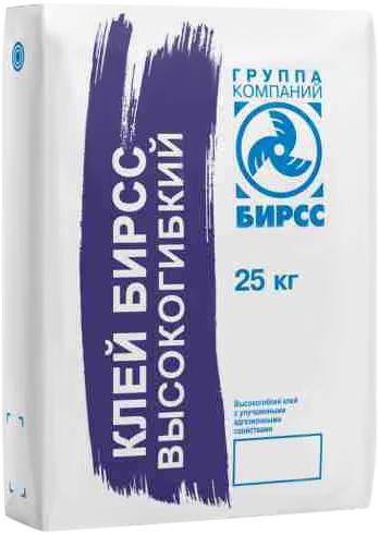 Бирсс Суперэластик клей высокогибкий эластичный плиточный (25 кг)