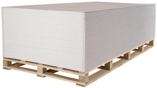 Кнауф лист арочный (ГСП-А 1.2*2.5 м/6.5 м)