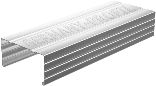 Профиль потолочный (ПП) Germany (60 мм*27 мм*3 м) (0.4 мм)