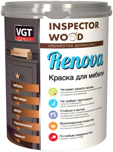 ВГТ Premium Renova краска для мебели полиуретановая (10 кг) супербелая