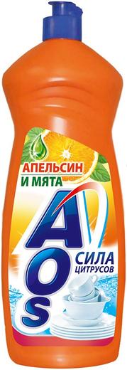 АОС Апельсин и Мята средство для мытья посуды (500 мл)
