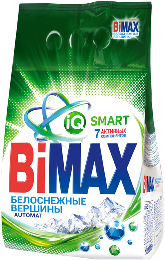 Bimax Белоснежные Вершины стиральный порошок (3 кг)