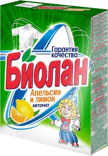 Биолан Апельсин и Лимон стиральный порошок (2.4 кг)