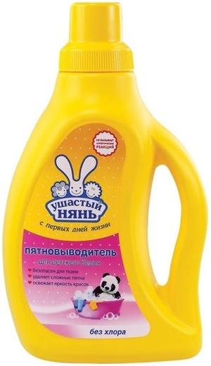 Ушастый Нянь пятновыводитель жидкий для детского белья (750 мл)