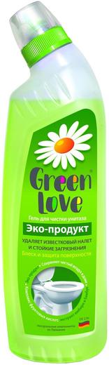 Green Love гель для чистки унитаза (750 мл)