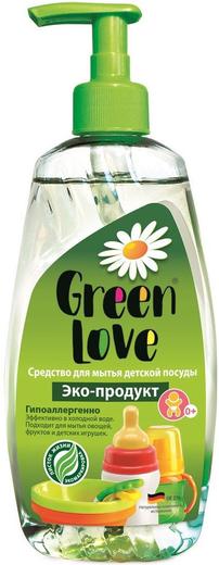 Green Love с Экстрактом Имбиря средство для мытья детской посуды и принадлежностей (500 мл)