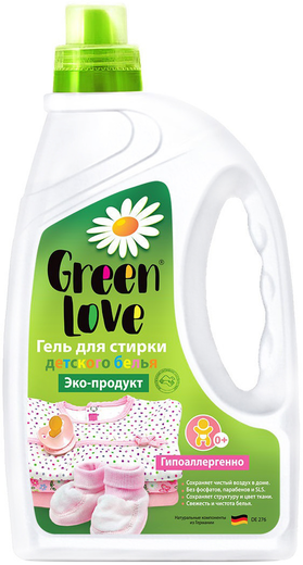 Green Love гель для стирки детского белья (1.35 л)