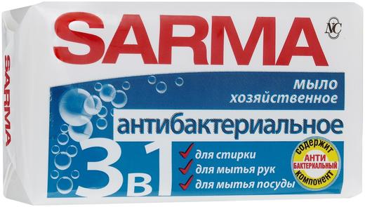 Сарма Антибактериальное мыло хозяйственное (140 г)