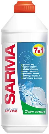 Сарма Оригинал антибактериальный гель для мытья посуды (500 мл)