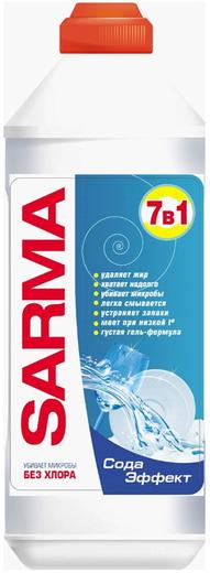 Сарма Сода Эффект антибактериальный гель для мытья посуды (500 мл)