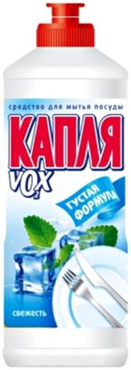 Капля VOX Свежесть средство для мытья посуды (500 мл)