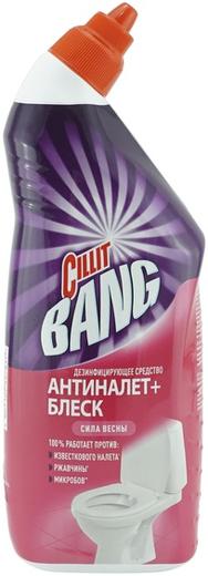 Cillit Bang Антиналет+Блеск Сила Весны мощное средство для туалета (450 мл)