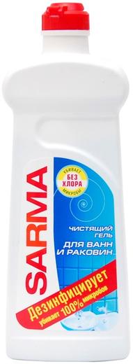Сарма чистящий гель для ванн и раковин (500 мл)