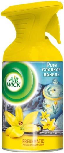 Air Wick Freshmatic Air Wick Pure Сладкая Ваниль освежитель воздуха аэрозоль (250 мл)