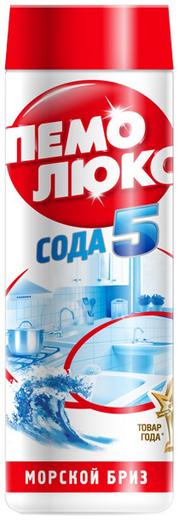 Пемолюкс Сода 5 Морской Бриз порошок чистящий (480 г)