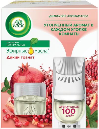 Air Wick Дикий Гранат диффузор аромамасел со сменным флаконом (19 мл)