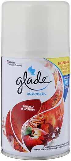 Glade Automatic Яблоко и Корица сменный баллон для автоматического освежителя воздуха (269 мл)